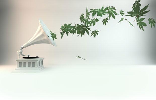 Using music to help marijuana grow