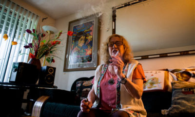 Elvy Musikka is one of only four New York recipients of federal medical marijuana for glaucoma.
