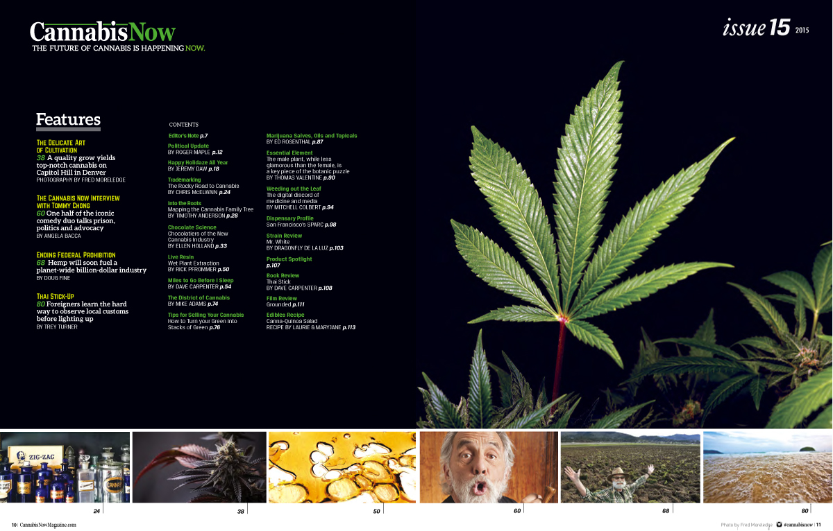 Purchase Cannabis Now Magazine Issue 15