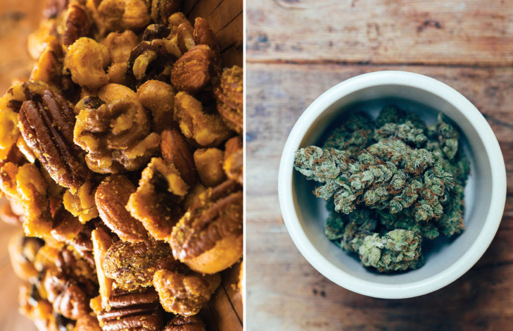Canna Oil Spiced Nuts Recipe