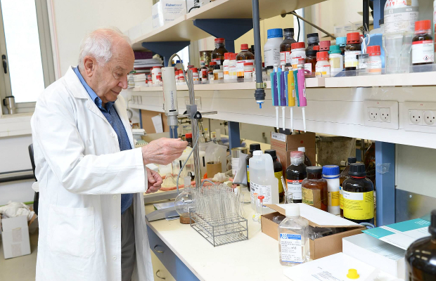 Dr. Raphael Mechoulam is the founding father of modern cannabis medicine, with research achievements including the discovery of the THC molecule and the endocannabinoid system.