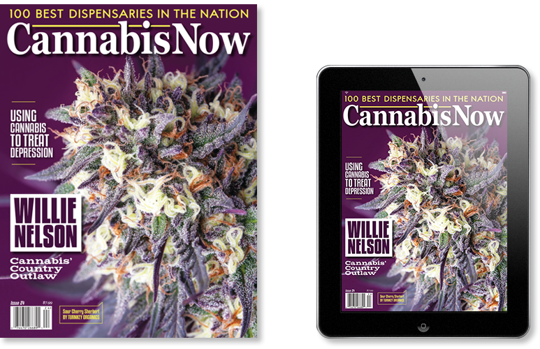 Subscribe to Cannabis Now Magazine Issue 24