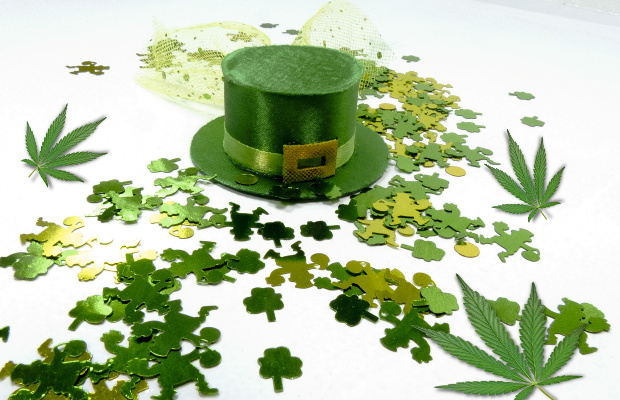 This Saint Patrick Day marks the first in legal cannabis states for millions of Irish Americans — 1.4 million in Massachusetts alone.