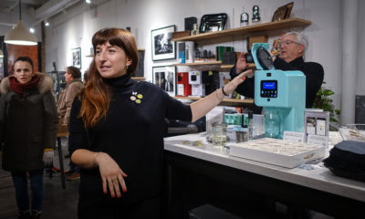omen's Cannabis Club Holds Holiday Salon