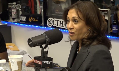 Kamala Harris Admits to Smoking Weed