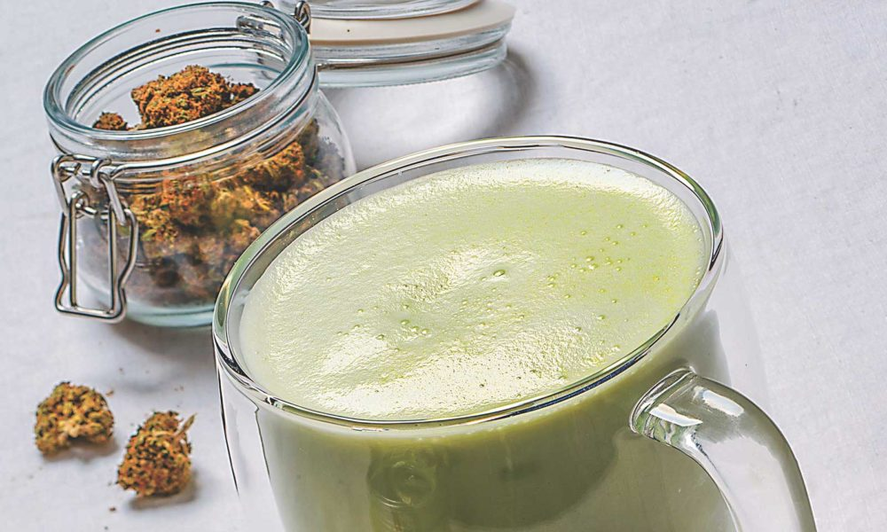 Edibles Recipe: Infused Matcha Latte