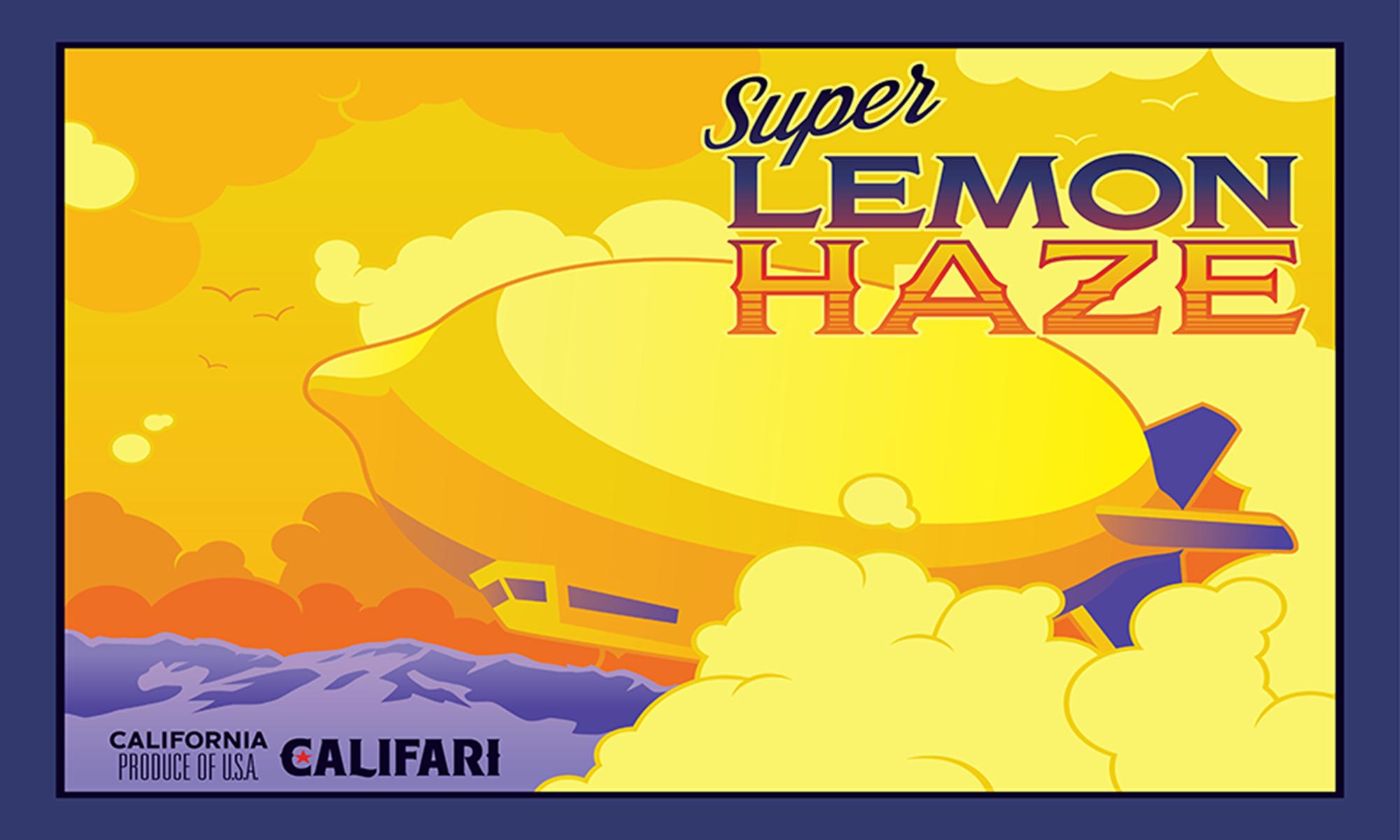 Super Lemon Haze by Timothy Watters
